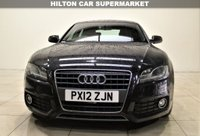 USED 2012 12 AUDI A5 2.0 SPORTBACK TDI S LINE 5d AUTO 141 BHP + 2 PREV OWNER + AIR CON + AUX + BLUETOOTH