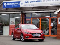 USED 2015 15 MAZDA 3 1.5 SE 5dr  *Great Value Family Hatch*