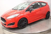 USED 2015 64 FORD FIESTA 1.0 ZETEC S RED EDITION 3d 139 BHP