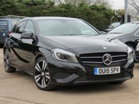 USED 2015 15 MERCEDES-BENZ A CLASS 2.1 A200 CDI SPORT 5d AUTO 136 BHP AUTOMATIC, FULL LEATHER + HEATED SEATS