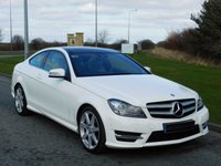 2012 MERCEDES-BENZ C CLASS 2.1 C250 CDI BLUEEFFICIENCY AMG SPORT 2d AUTO 204 BHP £13990.00