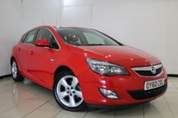 USED 2010 60 VAUXHALL ASTRA 1.6 SRI 5DR 113 BHP SERVICE HISTORY + CRUISE CONTROL + MULTI FUNCTION WHEEL + AIR CONDITIONING + RADIO/CD + AUXILIARY PORT + 17 INCH ALLOY WHEELS