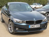 USED 2015 65 BMW 3 SERIES 2.0 320D SPORT GRAN TURISMO 5d AUTO 188 BHP MANUFACTURERS WARRANTY UNTIL DECEMBER 2018