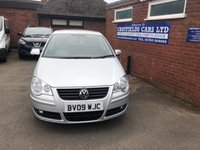 USED 2009 09 VOLKSWAGEN POLO 1.2 MATCH 5d 68 BHP ONE OWNER, ONLY 26K MILES