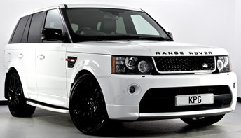 2012 LAND ROVER RANGE ROVER SPORT 3.0 SD V6 HSE Red Edition 4X4 5dr Auto [8] £27995.00