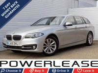 2015 BMW 5 SERIES 2.0 520D SE TOURING 5d AUTO 188 BHP £11289.00