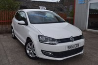 2014 VOLKSWAGEN POLO 1.2 MATCH EDITION TDI 3d 74 BHP £7750.00