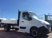 2015 RENAULT MASTER TIPPER 2.3 ML35 BUSINESS DCI L/R DRW 125 BHP 1 OWNER FSH £12000.00