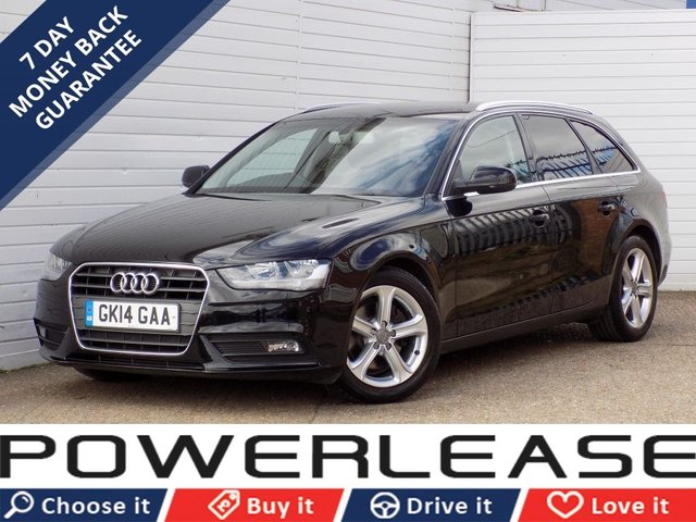 USED 2014 14 AUDI A4 2.0 AVANT TDI SE 5d 134 BHP 30 POUND ROAD TAX 1 OWNER