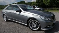 2013 MERCEDES-BENZ E CLASS 2.1 E250 CDI BLUEEFFICIENCY SPORT 4d AUTO 204 BHP £9500.00