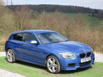 2014 BMW 1 SERIES 2.0 120D M SPORT 3d AUTO 181 BHP £13500.00