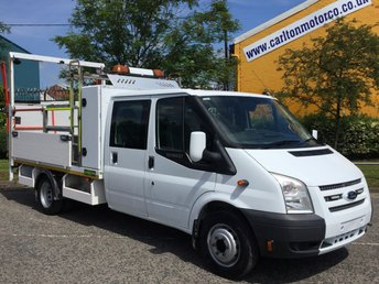 2013 FORD TRANSIT 2.2 155 T460 EF D/CAB 7Seat [ TRAFFIC MANAGEMENT ] DRW BHP £8950.00