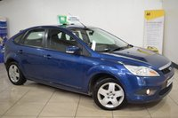 USED 2008 08 FORD FOCUS 1.6 STYLE TDCI 5d 107 BHP