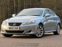 USED 2007 07 LEXUS IS 2.5 250 SE 4d AUTO 204 BHP