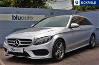 USED 2015 15 MERCEDES-BENZ C 250 2.1 BLUETEC AMG LINE PREMIUM 5d AUTO 204 BHP Keyless Entry, Pan Roof, Navigation, Memory Heated Seats
