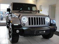 2015 JEEP WRANGLER 3.6 V6 Petrol Automatic Unlimited 5 Door with Removable Hard Top and Soft Top Option £30994.00