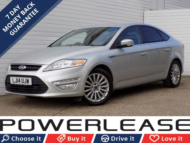 USED 2014 14 FORD MONDEO 2.0 ZETEC BUSINESS EDITION TDCI 5d 138 BHP 30 POUND TAX SAT NAV CRUISE