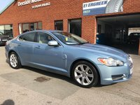 USED 2008 08 JAGUAR XF 3.0 LUXURY V6 4d AUTO 238 BHP Full leather upholstery : Electric driver and passenger seats  :  Electrically adjustable steering wheel  :  Bluetooth  :  Paddleshift controls  :  Satellite Navigation  :  Front and rear parking sensors