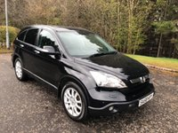 USED 2008 58 HONDA CR-V 2.2 I-CTDI EX 5d 139 BHP 6 MONTHS PARTS+ LABOUR WARRANTY+AA COVER
