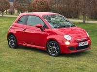 2014 FIAT 500 1.2 S 3d 69 BHP £6990.00