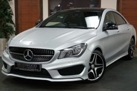 USED 2015 65 MERCEDES-BENZ CLA 2.1 CLA220 CDI AMG SPORT 4MATIC 4d AUTO 177 BHP