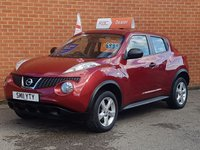 2011 NISSAN JUKE 1.6 VISIA 5d   LOW MILES £SOLD