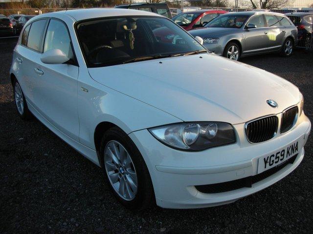 2009 59 BMW 1 SERIES 2.0 118D ES 5d 141 BHP