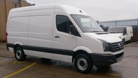 USED 2014 63 VOLKSWAGEN CRAFTER 2.0 CR35 TDI H/R P/V 1d 135 BHP 1 OWNER F/S/H X ALD \ FREE 12 MONTHS WARRANTY COVER ///