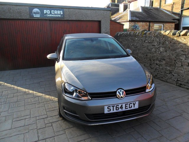 2014 64 VOLKSWAGEN GOLF 1.6 MATCH TDI BLUEMOTION TECHNOLOGY 5d 103 BHP