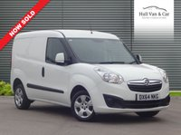 USED 2014 64 VAUXHALL COMBO VAN 1.2 2000 L1H1 CDTI SPORTIVE 1d 90 BHP ONE OWNER,FULL SERVICE HISTORY