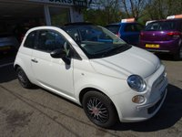 USED 2014 64 FIAT 500 1.2 CONVERTIBLE POP 3d 69 BHP Low Mileage, One Owner, Just Serviced by ourselves, MOT until March 2019 (no advisories), Convertible, Great on fuel economy! Only £30 Road Tax!