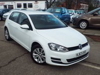 2013 VOLKSWAGEN GOLF 1.6 SE TDI BLUEMOTION TECHNOLOGY 5d 103 BHP £9000.00