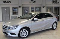 USED 2014 14 MERCEDES-BENZ A CLASS 1.5 A180 CDI BLUEEFFICIENCY SE 5d AUTO 109 BHP BLUETOOTH + CRUISE CONTROL + £20 ROAD TAX + 16 INCH ALLOYS + AIR CONDITIONING + RAIN SENSORS