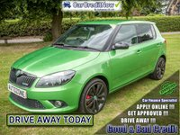 USED 2011 61 SKODA FABIA 1.4 VRS DSG 5d AUTO 180 BHP APPLY TODAY !!!