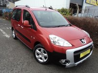 USED 2010 10 PEUGEOT PARTNER 1.6 TEPEE OUTDOOR HDI 5d 90 BHP
