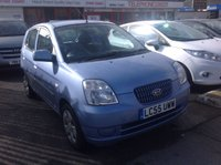 USED 2005 55 KIA PICANTO 1.1 LX 5d 65 BHP Ideal first car, low insurance, 38000 miles, superb.
