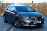 2015 TOYOTA AURIS 1.8 EXCEL VVT-I 5d AUTO 99 BHP £SOLD