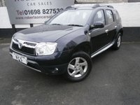 USED 2013 13 DACIA DUSTER 1.5 LAUREATE DCI 4WD 5dr