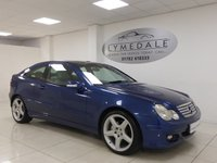 USED 2004 54 MERCEDES-BENZ C CLASS 3.2 C320 SE SPORTS 3d AUTO 215 BHP FULL DEALER HISTORY, PAN ROOF, 1 YR MOT, FULL LEATHER