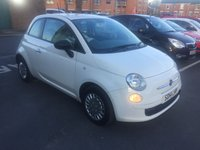 USED 2014 14 FIAT 500 1.2 POP 3d 69 BHP CHEAP TO RUN AND LOW ROAD TAX! ONLY 7555 MILES FROM NEW!!..EXCELLENT FUEL ECONOMY!..LOW CO2 EMISSIONS..LOW ROAD TAX.ONLY £30 ROAD TAX! FULL HISTORY..WITH RADIO/CD, AND STOP/START