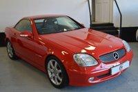 2002 MERCEDES-BENZ SLK 2.0 SLK200 KOMPRESSOR 2d 163 BHP £3995.00