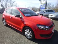 USED 2013 VOLKSWAGEN POLO 1.2 S 5d 60 BHP