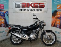 USED 2009 59 YAMAHA YBR 125 CUSTOM :PART EX NO WARRANTY