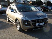 2010 PEUGEOT 3008 1.6 EXCLUSIVE HDI 5d AUTO 110 BHP £4995.00