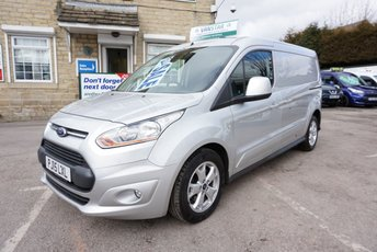 2015 FORD TRANSIT CONNECT 1.6 TDCI 115 240 L2 LONG LIMITED £10489.00
