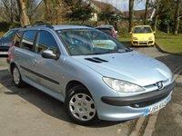 2004 PEUGEOT 206 1.4 SW S 5d 74 BHP £695.00