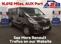 2015 RENAULT TRAFIC 1.6 SL27 BUSINESS DCI 115 BHP with Bluetooth Phone Connectivity £10580.00