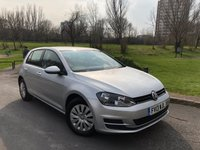 2013 VOLKSWAGEN GOLF 1.6 S TDI BLUEMOTION TECHNOLOGY 5d 103 BHP £7480.00