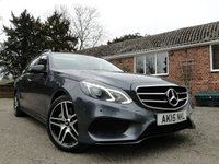 2015 MERCEDES-BENZ E CLASS E350 3.0 BLUETEC AMG NIGHT EDITION PREMIUM 5dr AUTO  £21495.00