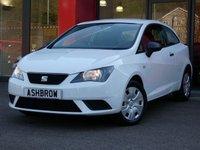 2015 SEAT IBIZA 1.2 S A/C 3d 70 BHP £5783.00